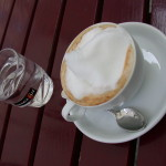 Cappuccino at Kleines Cafe