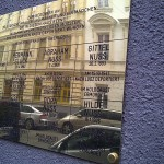 Herminengasse Vienna Holocaust Remembrance Sign
