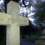 "Tombstone ""Wiedersehen"" in St. Maarx Cemetery Vienna"
