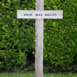 Cross marking Austrian Artist, Max Weiler's burial place, Central Cemetery