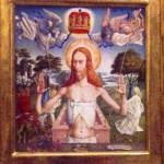 Jesus Ernst Fuchs Painting