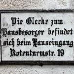 Door Bell Sign Vienna