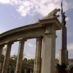 Side View of the Soviet War Memorial