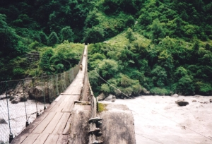 Annapurna Circuit Hanging Bridges