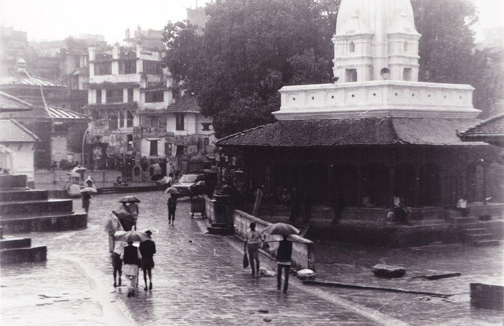 Kathmandu in Rain