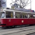 Vienna Ringstraße Tram 1 Line