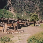 Village Along Annapurna Circuit