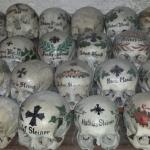 Skulls in Hallstatt Cemetery