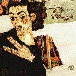 Egon Schiele Self Portrait