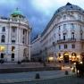 Michaelerplatz and Cafe Griensteidl