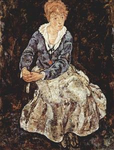 Edith Harms by Egon Schiele