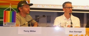 Terry Miller and Dan Savage of It Gets Better