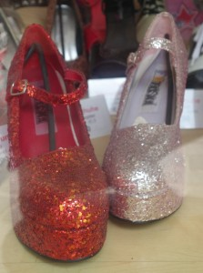 Sparkly Red Shoes