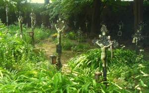 Graves at Cemetery of the Nameless