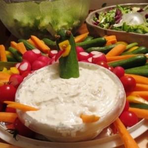 Turkey Veggie Dip
