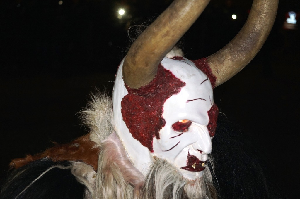 White-faced Krampus