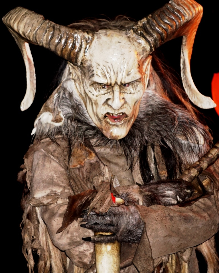 Bull-horned Krampus