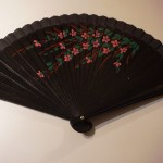 Black Wooden Fan