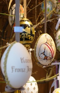 Kaiser Franz Josef Egg - yours for the taking - available for purchase at a Vienna Easter Market near you