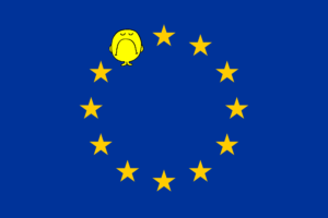 Disgruntled EU Flag